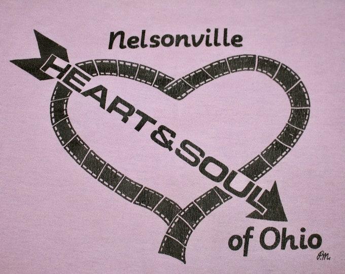 S/M * vtg 80s 1984 Mishchief movie t shirt * nelsonville ohio * 62.162 small medium