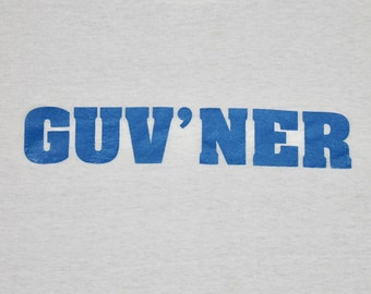XL * nos thin vtg 90s GUV'NER tour t shirt * sonic youth thurston moore band alternative indie * 94.57