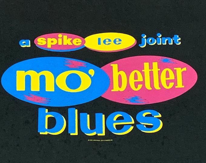 L/XL * vtg 90s 1990 Spike Lee Mo Better Blues movie t shirt * 91.62