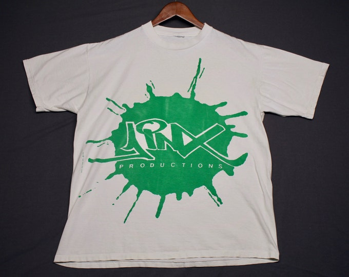XL * vtg 90s 1992 Jinx Productions t shirt * ice cube too short public enemy bebes kids boyz n the hood rap *