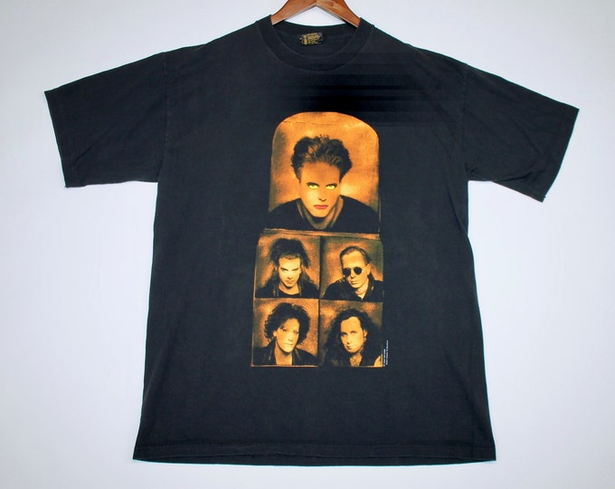 XL * vtg 90s 1992 The Cure wish t shirt * 108.25