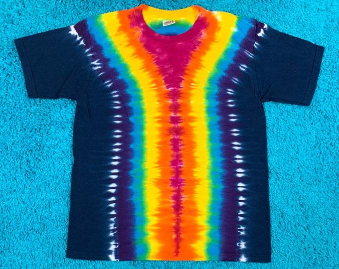 M * nos vtg 90s tie dye t shirt * 91.51