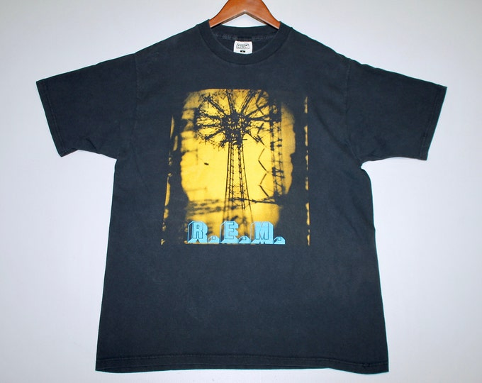 L * vtg 90s 1995 R.E.M. monster tour t shirt * 108.13 rem