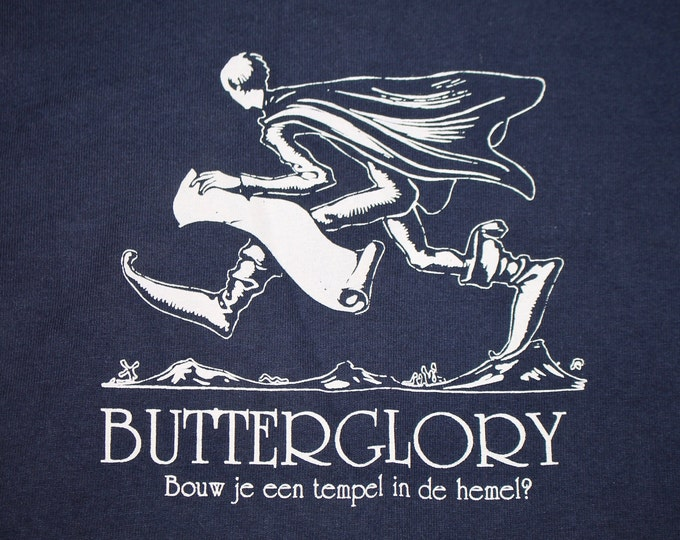 XL * vtg 90s 1996 Butterglory are you building a temple in heaven t shirt * indie white whale * 100.30