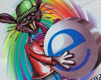 XL * nos vtg 90s Ecstacy parody t shirt * molly mdma rave mushroom weed marijuana rap pot drug * 32.206