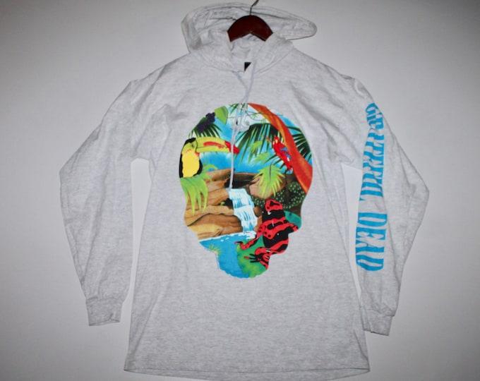 L * NOS vtg 90s 1993 Grateful Dead hoodie t shirt * brockum