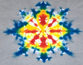 S * nos vtg 90s tie dye t shirt * single stitch * 61.147