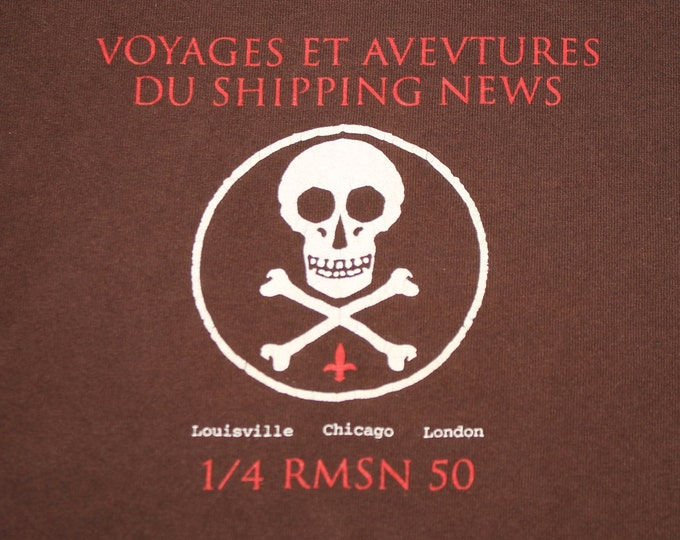 L * vtg 90s Shipping News t shirt * post rock slint fugazi * 103.25