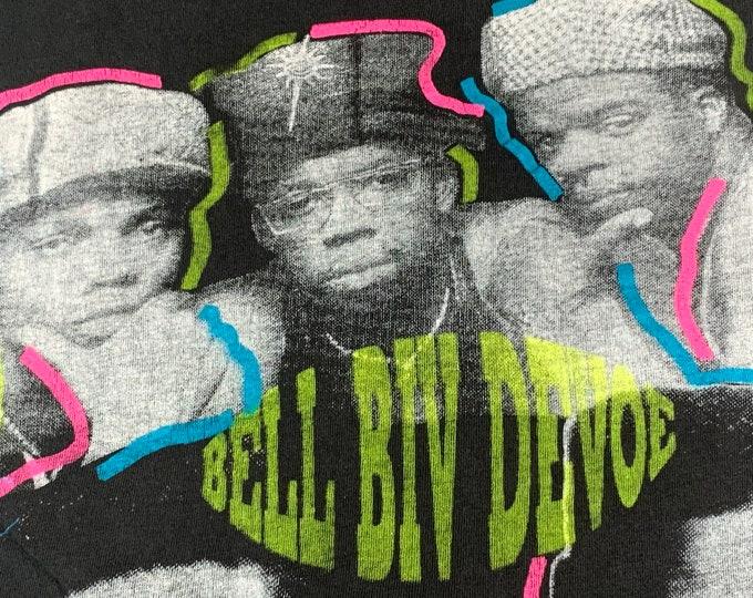 L * vtg 90s 1991 Bell Biv Devoe Keith Sweat Johnny Gill tour t shirt * rap r&b soul * 57.172