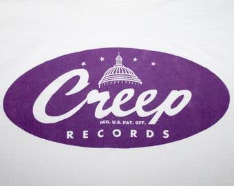 XXL * vtg 90s 1993 RADIOHEAD creep Pablo Honey promo t shirt * 75.131