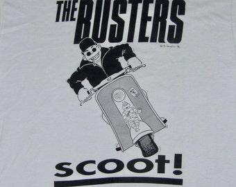 XL * NOS vtg 90s The Busters t shirt * ska * 38.168