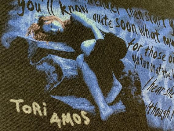 L * vtg 90s Tori Amos plugged tour t shirt * 35.14