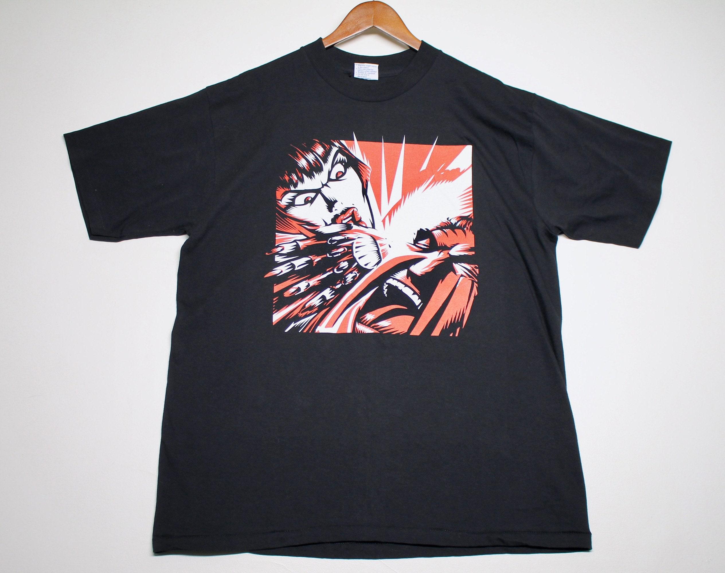 Xl Vtg 90s 1997 Kmfdm Symbols T Shirt Aidan Hughes Brute 10010