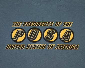 XL * NOS vtg 90s 1995 The Presidents Of The United States Of America t shirt * PUSA 73.121