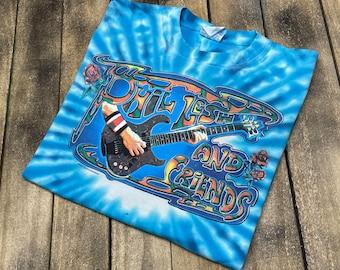 XL * vtg 2000 Phil Lesh & Friends tie dye tour t shirt * the grateful dead * 82.144