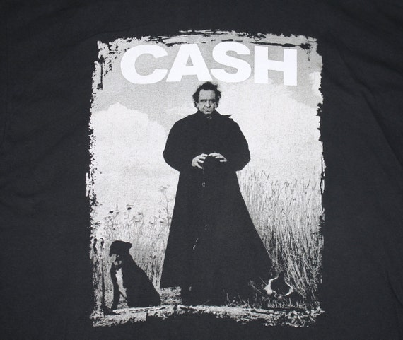 XXL * vtg 90s 1994 Johnny Cash american recordings