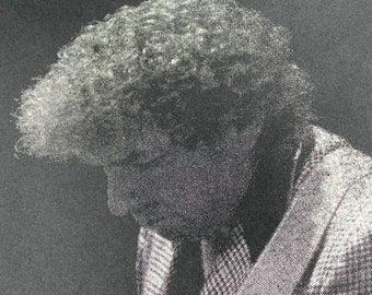 L * vtg 90s 1994 Bob Dylan t shirt * concert tour * 5.152