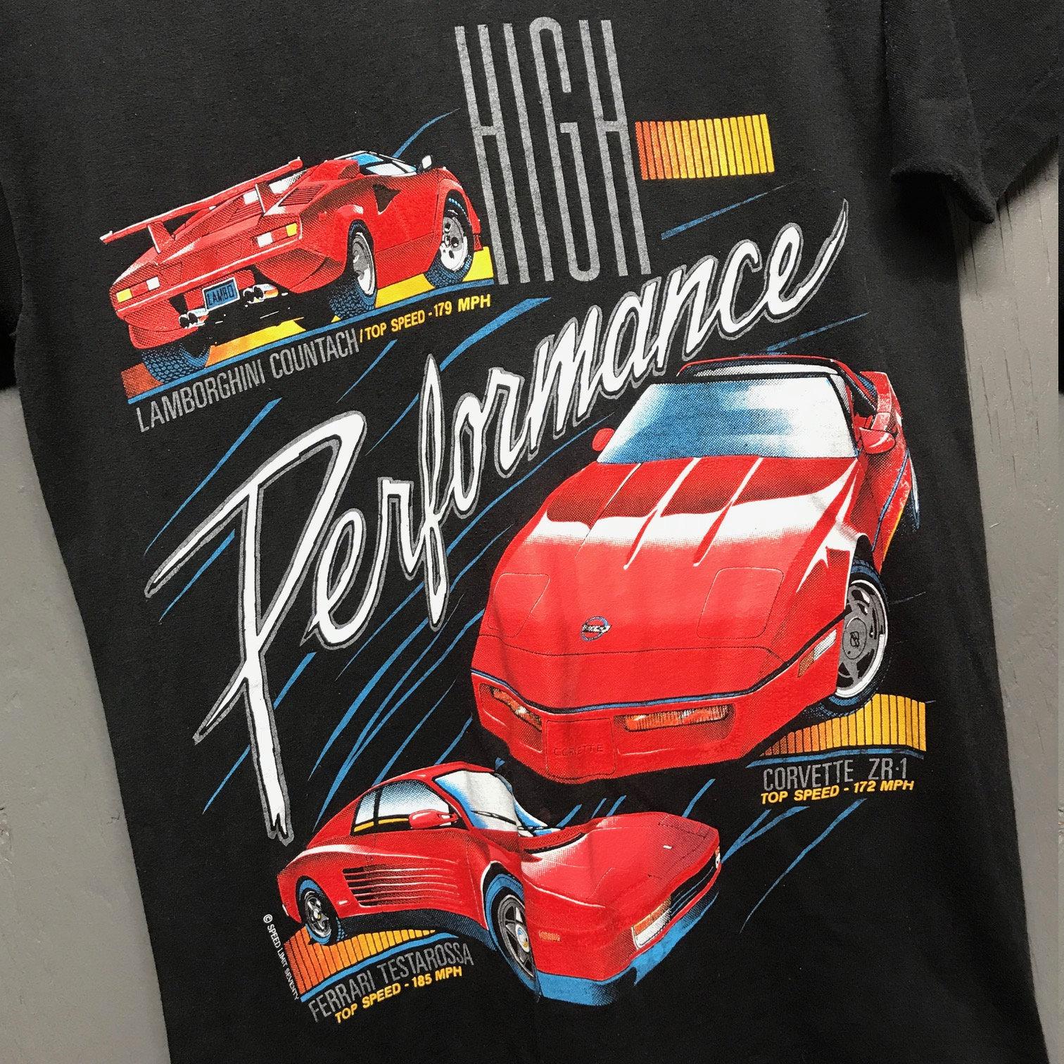M Vtg 80s 90s Lamborghini Countach Ferrari Testarossa Corvette Zr1