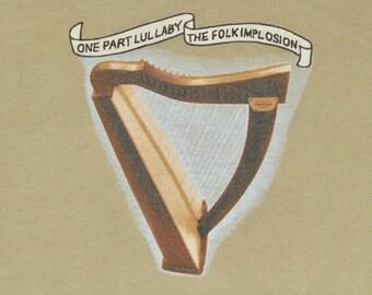 XL * vtg 90s The Folk Implosion on part lullaby * lou barlow dinosaur jr sebadoh * 37.140