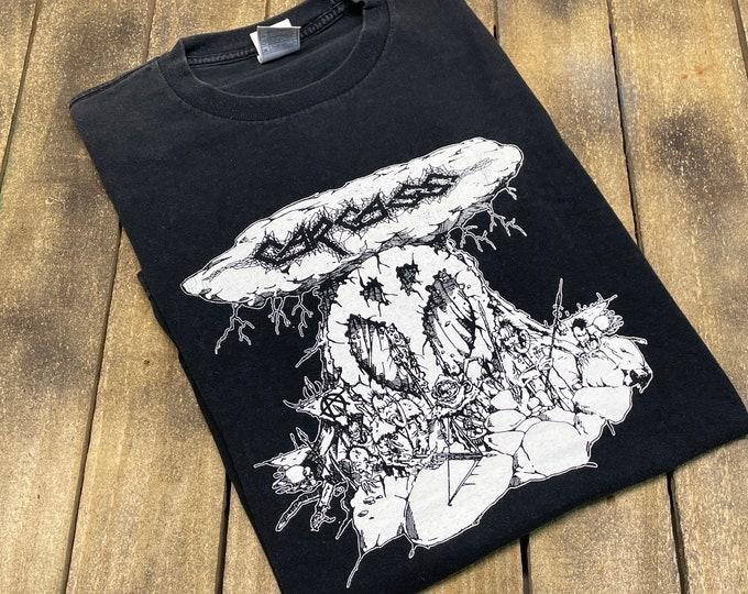 L * vintage late 90s Carcass t shirt * metal tour gore grind death * 31.152