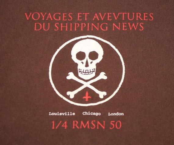 L * vtg 90s Shipping News t shirt * post rock slin