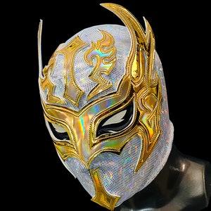 SILVER ALIEN wrestling mask luchador costume wrestler lucha libre mexican mask maske cosplay