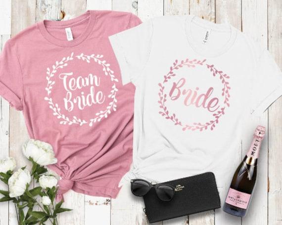 Bridesmaid Tank Top Bride Squad Bride Shirts Bridal Part Team Bride Shirt Bachelorette Shirts Bride Bridesmaid Gift Maid Of Honor