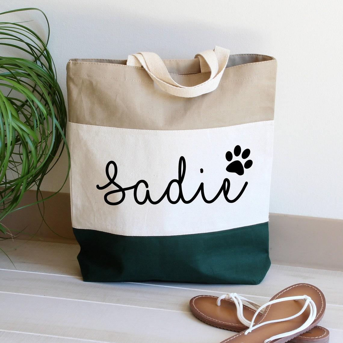 Custom Pet Tote Bag.