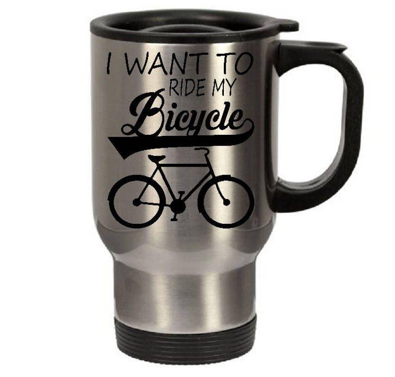 Want My Mugstainless To Travel Cold I Coffee Tumberhot Mugbicycle Steel Mug Or Mugtea Ride Bicyclecoffee VzGUqMpS