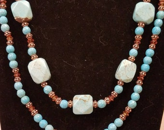 3 piece turquoise set