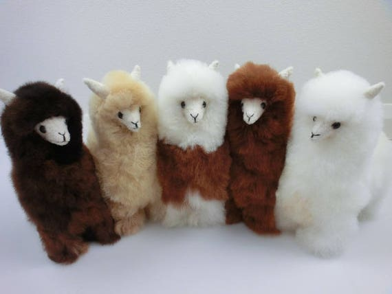 13 In 11 In 9in Handmade Alpaca Stuffed Animal Plush Alpaca Etsy