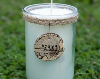Hygge Pomegranate Cider Organic Soy Candle