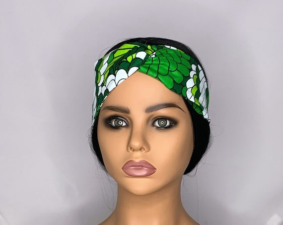 Green Twist Turban Headband