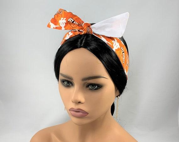 UT Reversible Tie Headband
