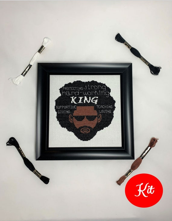 King Cross Stitch Kit