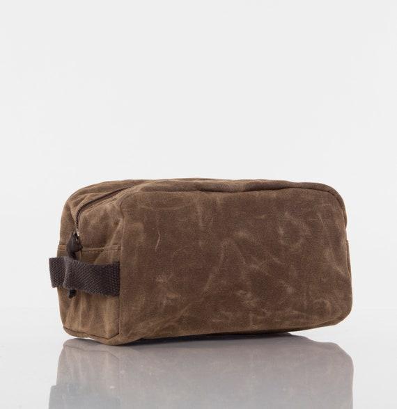 Khaki Personalized Travel Kit