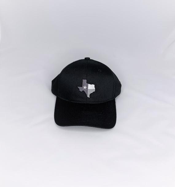 Black Texas (TX) Flag Cap
