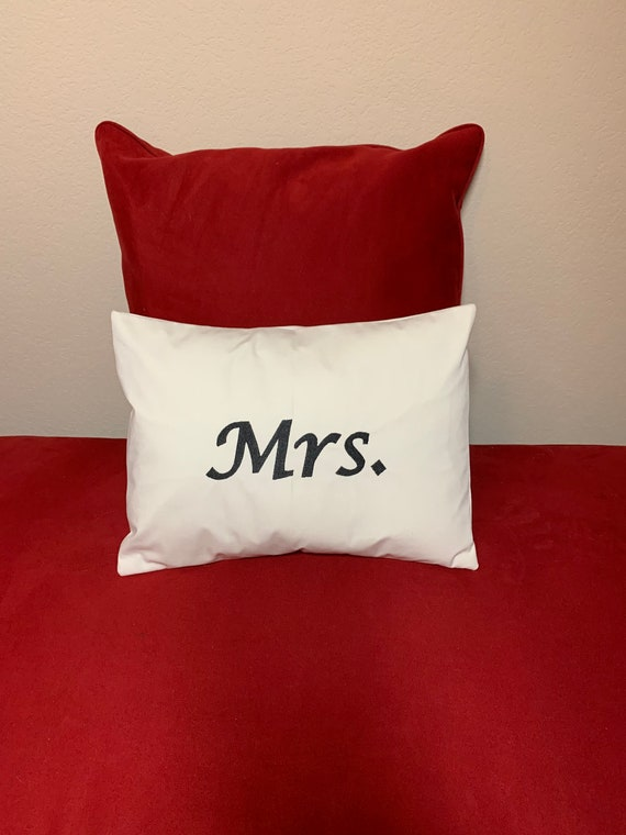Personalized Wedding Pillow Cover, Customized Wedding Decor, Decorative Pillow Custom, Wedding Name Pillow