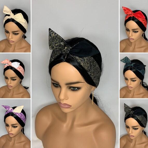 Rose Dolly Bow Headbands