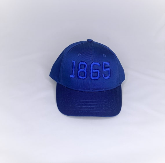 Blue 1865 3D Juneteenth Cap