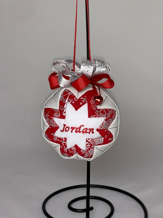 Personalized Fabric Ornament