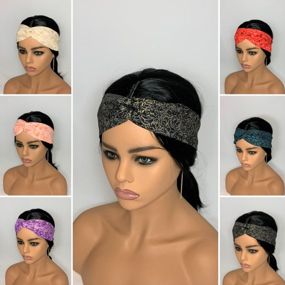 Rose Turban Headbands