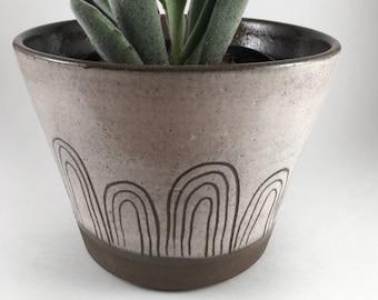handmade modern ceramic planter