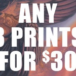 Any 3 Prints for 30