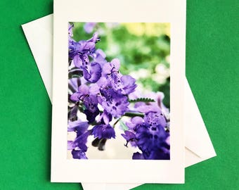 Handmade - note card - greeting card - thank you card - any occasion card