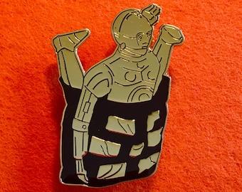 Star Wars C-3PO Vintage Kenner Style Enamel Pin- GOLD!