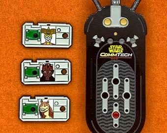 CommTech Reader Pin Set