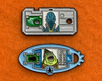CommTech Character Magnetic Chips- Junker and Boss