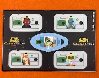 CommTech Vinyl Sticker Decal Sheet