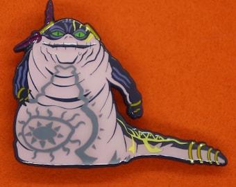 Uncle Gangster Slug Alien Pin